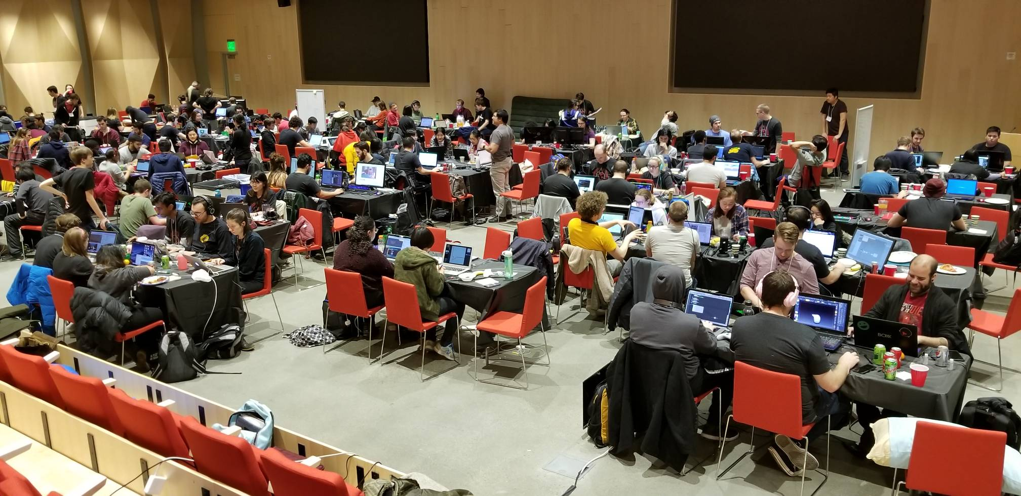 Students at Global Game Jam 2019